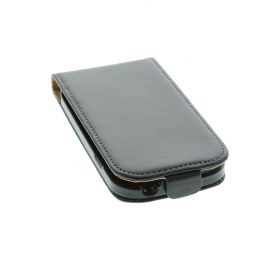 FLIP калъф за Samsung Galaxy S3 mini Естествена кожа Black