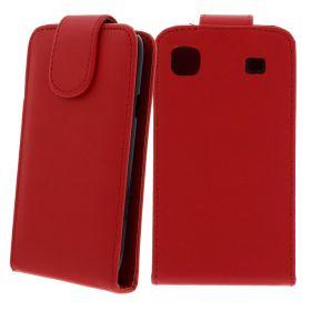 FLIP калъф за Samsung Galaxy S1 i9000 Red (Nr 7)