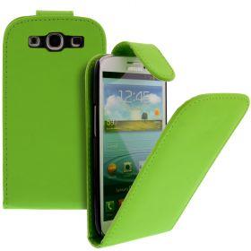 FLIP калъф за Samsung Galaxy S3 i9300 Green (Nr 30)