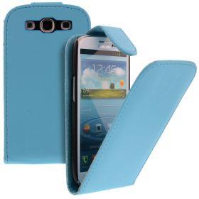 FLIP калъф за Samsung Galaxy S3 i9300 light Blue (Nr 19)