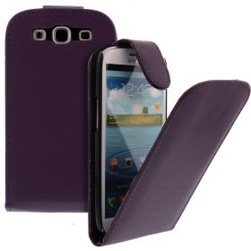 FLIP калъф за Samsung Galaxy S3 i9300 Purple (Nr 33)