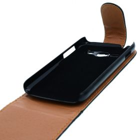 FLIP калъф за Samsung Galaxy ACE 3 S7270 Black