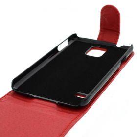 FLIP калъф за Samsung Galaxy S5 Red (Nr 7)