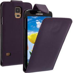 FLIP калъф за Samsung Galaxy S5 Purple (Nr 33)