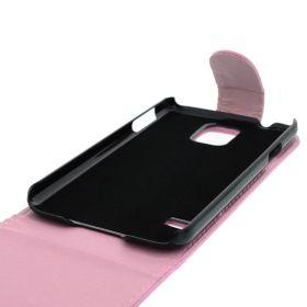 FLIP калъф за Samsung Galaxy S5 Pink (Nr 13)
