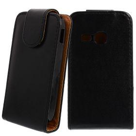 FLIP калъф за Samsung Galaxy Young S6310 Black