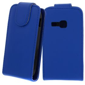 FLIP калъф за Samsung Galaxy Young Duos S6312 Dark Blue (Nr 11)