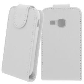FLIP калъф за Samsung Galaxy Mini 2 GT-S6500 White (Nr 15)