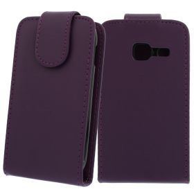 FLIP калъф за Samsung Galaxy Ace Duos GT-S6802 Purple (Nr 33)