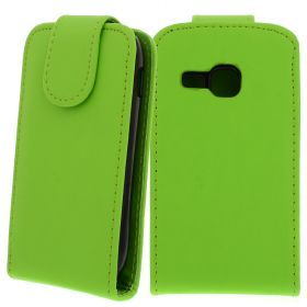 FLIP калъф за Samsung Galaxy Mini 2 GT-S6500 Green (Nr 30)