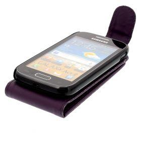 FLIP калъф за Samsung Galaxy Ace 2 GT-i8160 Purple (Nr 33)