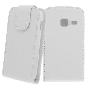 FLIP калъф за Samsung Galaxy Y Duos GT-S6102 White (Nr 15)