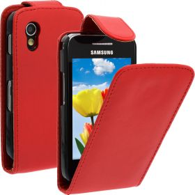 FLIP калъф за Samsung Galaxy ACE GT-S5830 Red (Nr 7)