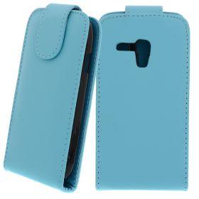 FLIP калъф за Samsung Galaxy S3 mini GT-i8190 Hell Blue (Nr 19)