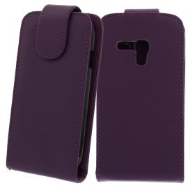 FLIP калъф за Samsung Galaxy S3 mini GT-i8190 Purple (Nr 33)