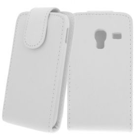 FLIP калъф за Samsung Galaxy Ace Plus GT-S7500 White (Nr 15)