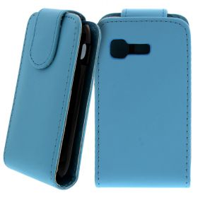 FLIP калъф за Samsung Galaxy Pocket GT-S5300 Hell Blue (Nr 19)