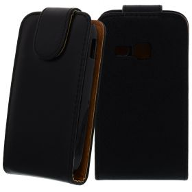 FLIP калъф за Samsung Galaxy Young Duos S6312 Black