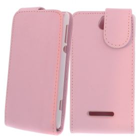FLIP калъф за Sony Xperia E Pink (Nr 13)