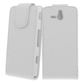 FLIP калъф за Sony Xperia U White (Nr 15)