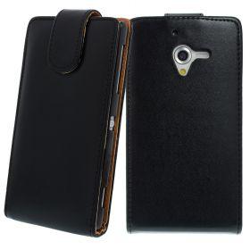 FLIP калъф за Sony Xperia ZL Black