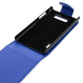 FLIP калъф за LG P700 Optimus L7 Dark Blue (Nr 11)