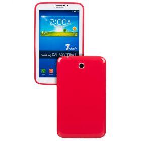 Силиконов кейс за Samsung Galaxy Tab3-7''p3200 RED+SP