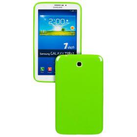 Силиконов кейс за Samsung Galaxy Tab 3-7''P3200 Green+SP