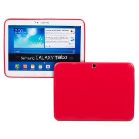 Силиконов кейс за Samsung Galaxy Tab3-10,1''P5200 RED+SP