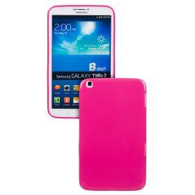 "Силиконов кейс за Samsung Galaxy Tab 3-8""  T3100 Hot Pink+SP"