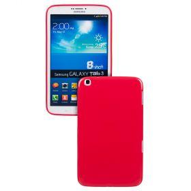 "Силиконов кейс за Samsung Galaxy Tab 3-8""  T3100 Red+SP"