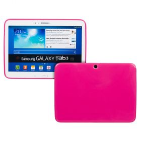 Силиконов кейс за Samsung Galaxy Tab3-10,1''P5200 Hot Pink+SP