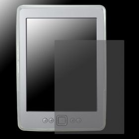 Силиконов кейс за Kindle 4 + Display Protection Бял