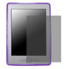 Силиконов кейс за Kindle 4 + Display Protection Лилав