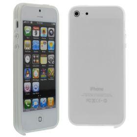 Силиконов кейс за iPhone 5S 5G White