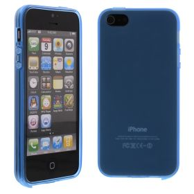 Силиконов кейс за iPhone 5S 5G Blue