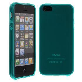 Силиконов кейс за iPhone 5S 5G Turquoise