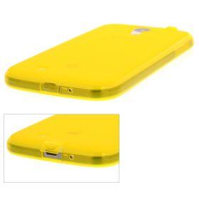 Силиконов кейс за Samsung Galaxy S4 i9500 Yellow