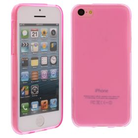 Силиконов кейс за iPhone 5C Pink