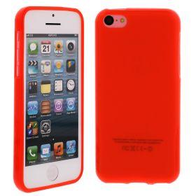 Силиконов кейс за iPhone 5C Red