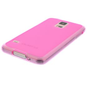 Силиконов кейс за Samsung Galaxy S5 fuchsia