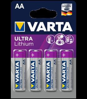 Varta Lithium AA BL4