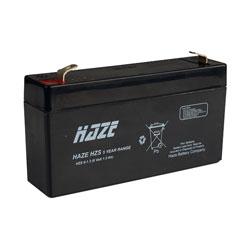 Оловна батерия HAZE 6V / 1.3AH