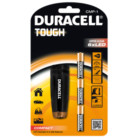 Фенер Duracell Tough Compact CMP-1 + 3xAAA