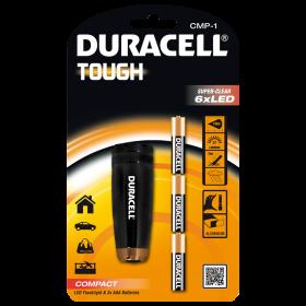 Фенер Duracell Tough Compact CMP-1 + 3xAAA