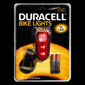Фенер за велосипед Duracell Bike Light B02 + 2xAAA BL1
