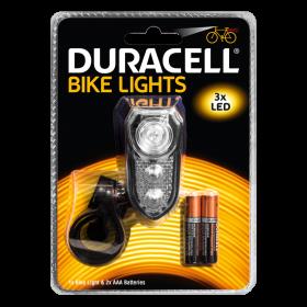 Фенер за велосипед Duracell Bike Light F02 + 2xAAA BL1