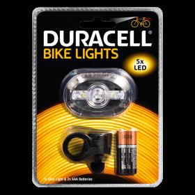 Фенер за велосипед Duracell Bike Light F03 + 2xAAA BL1