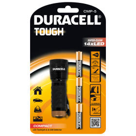 Фенер Duracell Tough Compact CMP-5 + 3xAAA