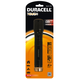 Фенер Duracell Tough Solid SLD-100 (2xD) без батерии